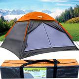 Barraca Para Camping Weekend Impermeável 4 Pessoas Echolife