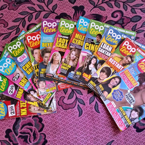 Revistas Popteen 12 Edições Em Bom Estado (frete Já Incluso)