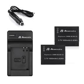2 Baterías + Cargador Para Panasonic Lumix Dmw--302066580349