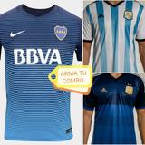 Oferta *pack X2* Boca 2017 + Argentina 2014 Arma Tu Combo!