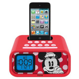Minnie Mouse Dual Alarm Clock Y 30pin Ipod Speaker Dock Dmh2