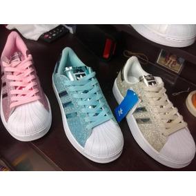 Zapatillas adidas Original Superstar Envio Gratis! Purpurina