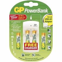 Mini Cargador Bateria Gppb310 Powerbank Incluye Pilas Aa Aaa
