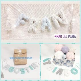 Nombres Tejidos A Crochet