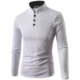 Playera Slim Fit Caballero Hombre Camisa Casual Moda Polo