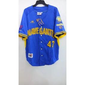 Camiseta De Beisbol Vzla Lvbp Navegantes Magallanes Talla M