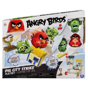 Angry Birds Pig City Strike Juego