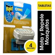 Aparato Para Tabletas Contra Mosquitos Sin Cable Raid + 4tab
