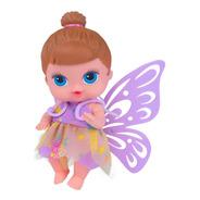 Boneca Babys Collection Mini Fada Morena - Super Toys 373
