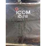 Capa De Radioamador Icom Ic-718