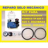 Reparo Selo Mecanico Pressurizador Komeco Inova Tp820 825 T