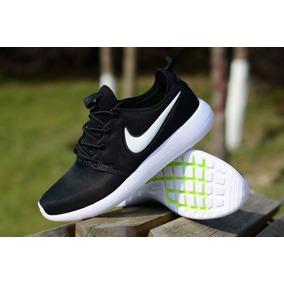 e1e675b91cbd3 Tenis+zapatillas+nike+roshe+negras+para+mujer+y+hombre Ropa Y ...