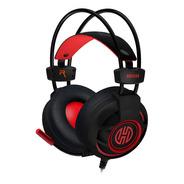 Fone De Ouvido Gamer Bruiser Led Red Hoopson Dg28r Headset