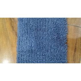 Tapete Alfombra Azul Para Pasillo 1 X 4 Metros Con Ribete