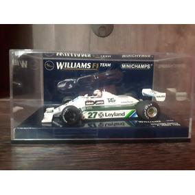 1/43 Minichamps Williams Alan Jones F1 Campeão 1980