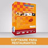 Software Punto De Venta Delsscom Restaurante Control Total