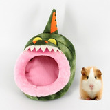 Suministro Mascota Cama Forma Encantadora Mini Pink Pig Cm