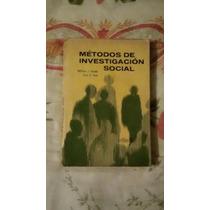 Libro Métodos De Investigación Social, William J. Goode-paul