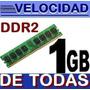Memoria Ram 1gb Ddr2 Pc2-4200 533mhz Para Pc Envio Gratis