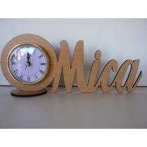35 Souvenirs Reloj Con Nombre Pers Hasta 7 Letras 15 Años