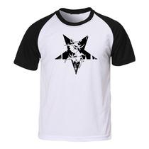 Camiseta Sepultura - Raglan - Metal Rock Banda Camisa Trash