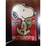 Álbum De Figurinhas Antigo Snoopy