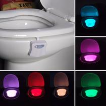 Luz Led Para Inodoro, Baño Sensor Movimiento Envío Mismo Día