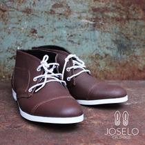 Zapatos Y Botitas 100% Cuero Vacuno Hombre Joselo Calzados