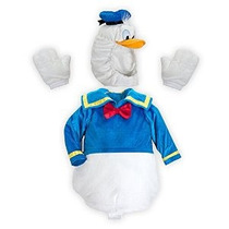 Disney Store Pato Donald Deluxe Plush Disfraz De Halloween T