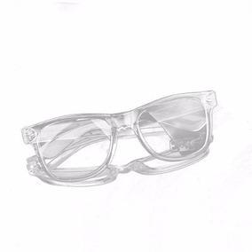 Armação De Óculos Retrô Transparente