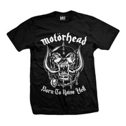Remera Motorhead   Born To Raise Hell