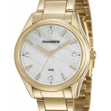Relógio Mondaine Feminino Dourado 53568lpmvde2