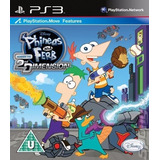 Phineas Y Ferb Ps3 A Traves De La 2° Dimension | Digital Esp