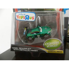 Cars 2 Nigel Gearsley With Metallic Finish Disney Carros 2