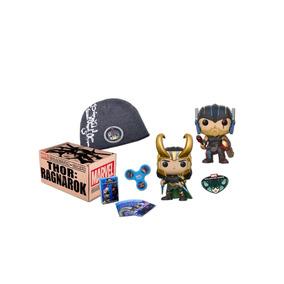 Kit Accesorios Coleccionables Funko Box Marvel Thor Ragnarok