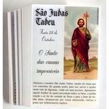 Milheiro Santinho São Judas Tadeu Oração Promessa 1000 Und
