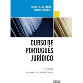 Curso De Portugues Juridico - 11 Ed