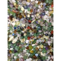 Pedra Rolada Mista 1/2 Kg 500 G Semi Preciosas 2 Cm Atacado