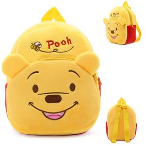 Mochilas Peluche Osito Winnie Pooh Bebés Niños Pequeños Oso