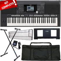 Kit Completo Teclado Arranjador 61 Teclas Psr-s950 Yamaha