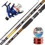 Equipo Pesca Waterdog Caña Colville 2.40 + Reel Calypso 602
