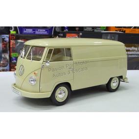 1:18 Volkswagen T1 Bus Panel 1963 Beige Welly Combi