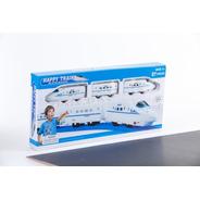Tren Bala De 3 Vagones Con Accesorios Jem