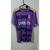 Camiseta De Estudiantes Umbro Arquero Of 2 Dorado/violeta