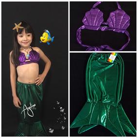 Disfraz Inspirado En Ariel La Sirenita De Disney