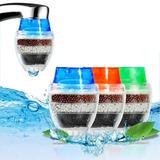 Filtro Bico Torneira Elimina Gosto Cloro Água-carvão 3 Em 1