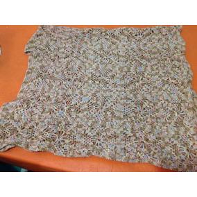 Chaleco Tipo Remera Tejido Crochet Impecable Cont.y Cad.105