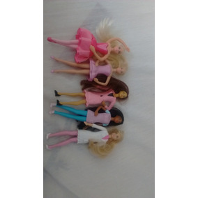 Minis Bonecas Barbie Antigas (mc Donalds)
