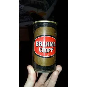 Lata Antiga Da Cerveja Brahma Em Ferro