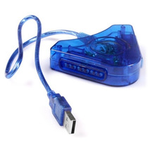 Adaptador Usb Para Controles Ps2 Y Ps1 Soporta Vibracion